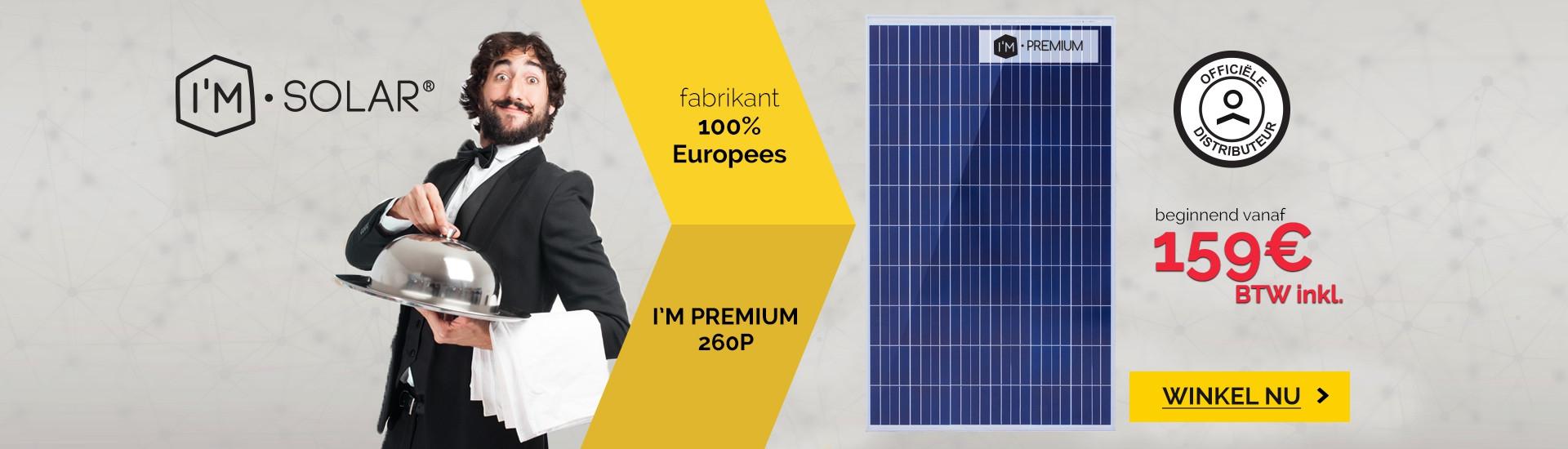 Solarmodulen I'M PREMIUM by I'M SOLAR®