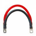 Kabel voor batterij - Set van 2 kabels - 35mm2 / 20cm