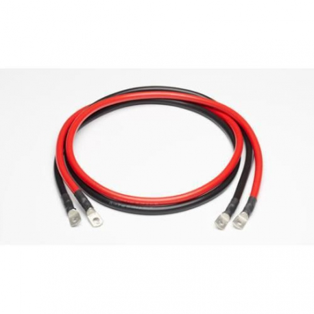 Kabel voor batterij - Set van 2 kabels - 16mm2 / 2m