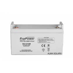 Batterij ProPower GEL Deep Cycle 12V/100Ah