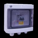 AC Box 32A 230VAC eenfasig AC 5-6kW