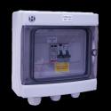 AC Box 16A 230VAC eenfasig AC 3-4kW