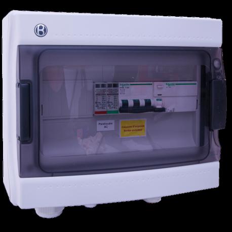 AC Box 16A 400VAC driefasig AC 3-10kW