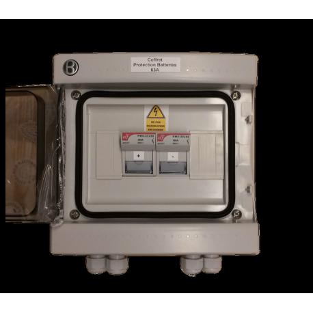 Veiligheidsbox voor 63A-batterijen