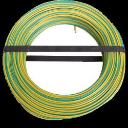 Masse kabel 50m geel / groen 10mm ²