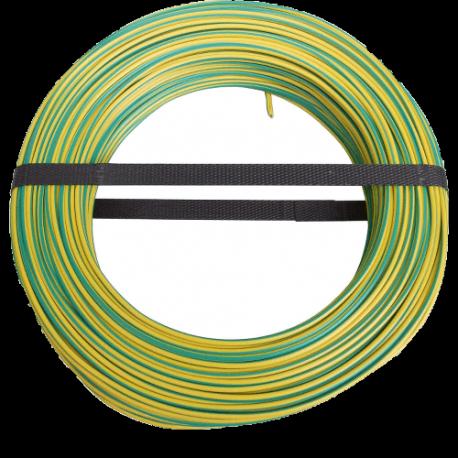50m van Aardingskabel geel / groen 6 mm²