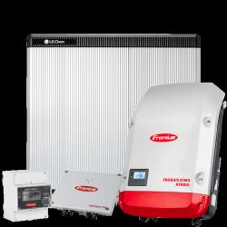 Fronius hybride 3.0-3-S + LG RESU10H-pakket