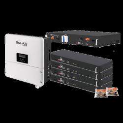 Solax X1-Hybrid-3.0-D-E + Pylontech 4x H48050-pakket