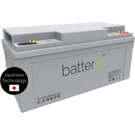 BatterX LC700-lood koolstofbatterij