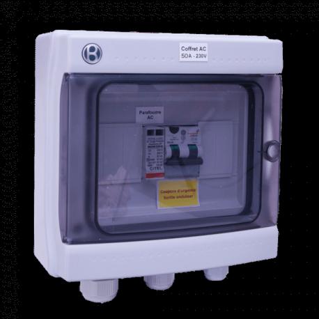 AC Box 50A 230VAC eenfasig AC 7-10kW