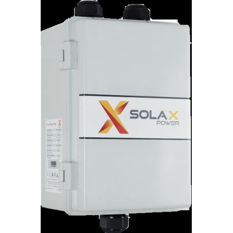 Driefasige Solax X3-EPS-BOX bij netwerkonderbreking
