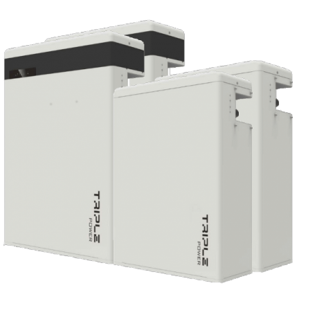 Pack 2x Triple Power batterij 11.6kWH Hoogspanning