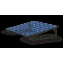 Easy Roof Flat voor installatie op een plat dak