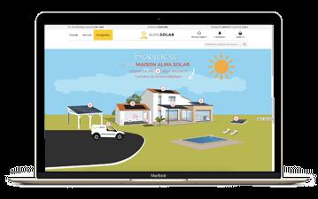 Maak zonne het eigen verbruik met Alma Solar huis