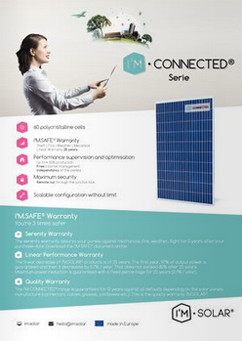 IM CONNECTED Polykristallijne zonnepanelen