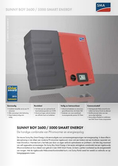 SMA Smart Energy omvormer