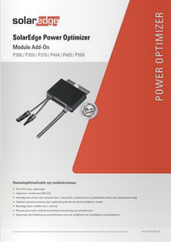 SOLAREDGE P300 P500 Optimizer
